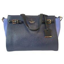 KATE SPADE Blue Genuine Leather Shoulder Bag 30 x 22 x 12cm - K20