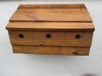 Sparrow colony  Nesting Box 500 mm varnished