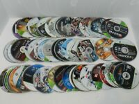 Microsoft XBOX 360 Complete Fun You Pick & Choose Video Games Lot DISC ONLY