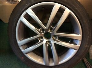 Genuine Volkswagen Polo Alloy Wheel Part No 6C0601025J 16 Inch,tyre Not Included