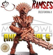 RN Estudio Myth Bowl 32mm Ramses Chainsaw Skeleton Ancestrals Egyptian Undead