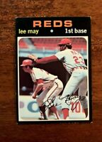 "1971 Topps Baseball #40 Lee May (Reds) ""NM"""