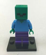 Genuine LEGO Minifigure Minecraft Zombie - from various sets - min010