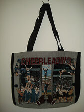 New Mill Street Design Tapestry Canvas Tote Bag  Cheerleading