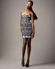 NEW TIBI Strapless LACE PRINT RUNWAY DRESS SIZE 10 $349 NORDSTROM