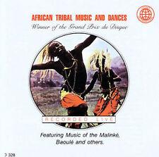African Tribal Music And Dances Malinke, Baoule Audio CD