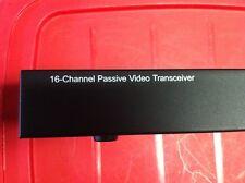 16 ch port BNC cctv camera passive video balun UTP, Rack