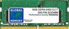 """8 GB DDR4 2400 MHz PC4-19200 260-PIN SODIMM RAM para iMac 27"""" con Retina 5K (2017)"""