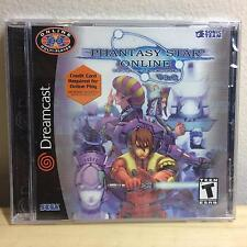 Phantasy Star Online Version 2 Ver2 Sega Dreamcast 2001 BRAND NEW FACTORY SEALED