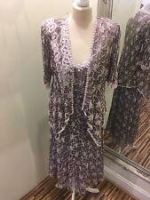 Beautiful Italian Lace Dress & Jacket By Ann Balon