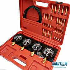 Carburettor Synchronizer Vacuum Gauges set 4pc