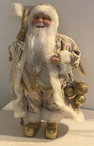 Clayre Eef Weihnachten Deko Weihnachtsmann Weihnachtsschmuck Nikolaus 30*15*11cm