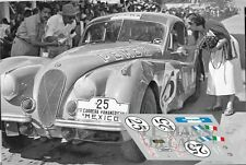 Calcas Jaguar XK120 Carrera Panamericana 1953 25 1:32 1:43 1:24 1:18 decals