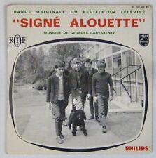 Signé Alouette 45 tours ORTF Georges Garvarentz 1967