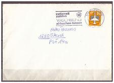 DDR, MiNr. 2832 TSt + WSt Merseburg - rational zahlen Versicherung  02.11.1985