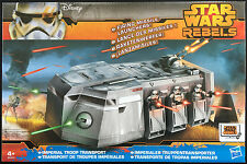 IMPERIAL TROOP TRANSPORT with Missile Launcher HASBRO Star Wars Rebels NEW MIB