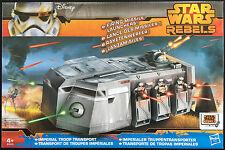 Imperial de transporte de tropas con lanzador de misiles HASBRO Star Wars Rebeldes NUEVO MIB
