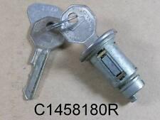 1935 58 Pontiac Ignition Lock Cylinder with Original Key, C1458180R