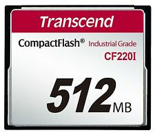 512MB Transcend Industrial Temperature Range CF220I 220X Ultra CompactFlash SLC