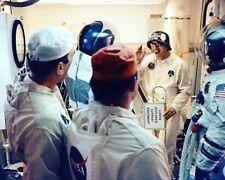 Günter Wendt mit / Apollo 14 Astronauts 8x10 Silber Halogen Fotodruck