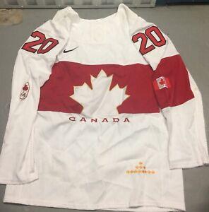 Team Canada John Tavares #20 Olympics Jersey Sz Medium NHL Hockey Maple Leafs