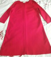WITCHERY BRIGHT RED 3/4 SLEEVE A-LINE KNIT DRESS SIZE S.