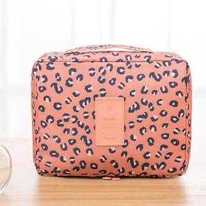 Womens Makeup Bag Cosmetic Case Travel Toiletry Organizer Portable Storage Box