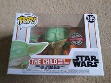 Star Wars Mandalorien l/'enfant Force brandissant #385 édition spéciale Funko Pop