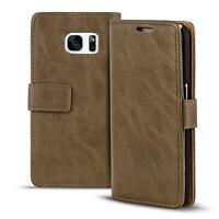 Handy Tasche Hülle Samsung Galaxy S7 Case Klapphülle PU Leder Wallet Cover Etui