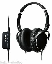 Active Noise Cancelling Stereo Headset for Smartphone (Colour: Black)