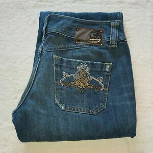 "Diesel Industry Jeans ""Lambry"" W29 L32 007ON Dark Wash Distressed Button Fly"