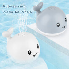 baby toys Bath Toy Whale Water Toy With LED Light Water Spray Ball Baby _juP Fn