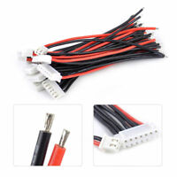 12pcs 1-6S Lipo Battery Balance Connector Charger Adapter Charge Plug Cable Wire