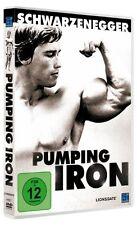 Pumping Iron Arnold Schwarzenegger [DVD] NEU *DEUTSCH*