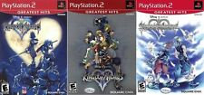 Kingdom Hearts I, II, & Re: Chain of Memories Combo Pack [Playstation 2 ps2] NEU