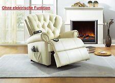 Sessel aus Kunstleder in aktuellem Design fürs Wohnzimmer