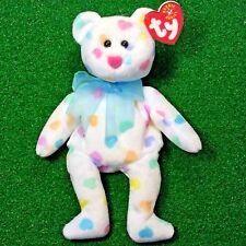Ty Beanie Baby Kissme The Valentine's Day Bear 2001 Retired Plush Toy - MWMT