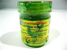 🕉1 x HONG THAI Thai Herbs Herbal Inhalant Traditional Nasal Inhaler, Cold, Flu