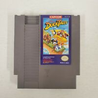Ducktales Nintendo Nes Cleaned & Tested Authentic Great Label