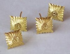 Chiodi oro spalline tedesche, gradi shoulders rank pips stelline grado tedesco