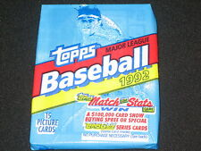 1992 TOPPS BASEBALL WAX PACK NEVER OPENED GREAT CONDITION VINTAGE VERY NICE STAR