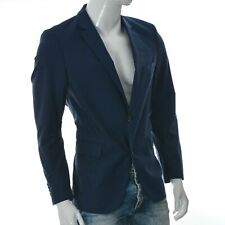 Joop Men's Natural Stretch Pure Wool Blazer Single Breasted Two-Button Jacket 50