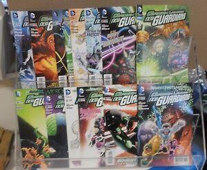 DC Comics New 52 Green Lantern New Guardians  #15-27 & Annual #1 Comic Run Set