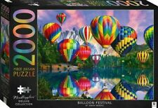 Balloon Festival - Mindbogglers Illustrated 2000 Piece Deluxe Jigsaw Puzzle