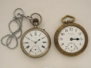 Longines Waltham Taschenuhr Frackuhr Herren Handaufzug Uhrmacher