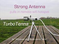 NextG USB-Yagi TurboTenna 802.11n Wifi Antena de alta potencia con kit de montaje en pared