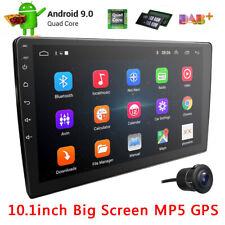 10.1'' 2 DIN Android 9.1 Car Stereo MP5 Player GPS Navi WiFi BT FM Radio+HD Cam
