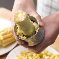 Corn Cob Peeler Stripper Cutter Splitter Remover Thresher Kitchen Salad Tool