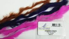 "Nature'S Spirit Rabbit Zonker 1/8"" Strips Fly Jig Tying Pick Color Straight Cut"