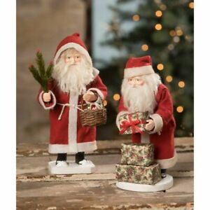 Bethany Lowe Small Vintage Santa Claus 2A TD0028 PREORDER for July Free Shipping